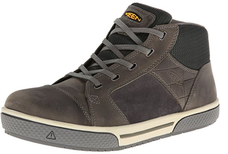 keen utility mid steel toe work shoe review